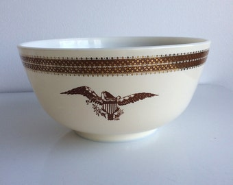 Vintage Pyrex Federal Eagle 3 Qt Mixing Bowl #479-B