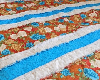 Homemade Quilt - Rag Quilts - Toddler Bedding - Rag Quilt - Rag Bedding - Twin Size Quilt - Throw Quilt - Child Rag Quilt - Toddler Quilt