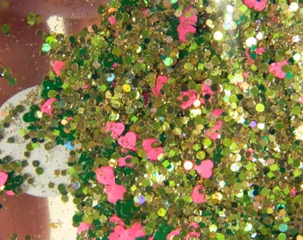 Irish love glitter mix 3 grams raw glitter
