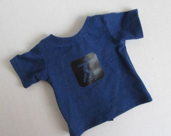 """18"""" Doll T-shirt - 18 Inch Boy Doll Clothes - American Made Girl Doll Clothes"""