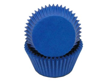 Blue CK Glassine Baking Cup.  About 75 Cup Cake Liners