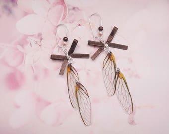 earrings fairy wings