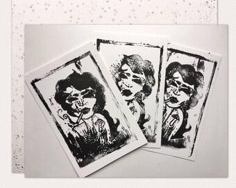Tattoo Girl Print