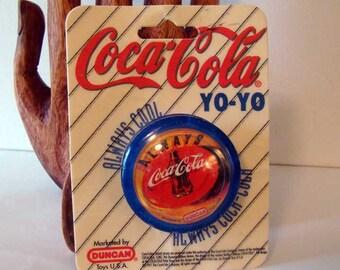 Coca-Cola Duncan Yo-Yo, Always Coca-Cola yo-yo, 1997, vintage Coke Duncan yo-yo