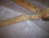 antique silk velvet trim doll supplies