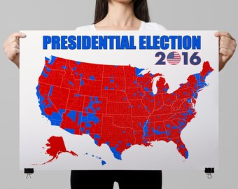 2016 Presidential Election Poster (PRESIDENTIAL-2)
