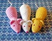 Crochet Sugar Mouse (single)