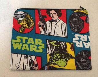 Large Star Wars zip bag.