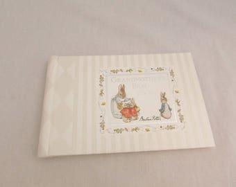 Peter Rabbit Photo Album Brag Book for Grandmother - 1977