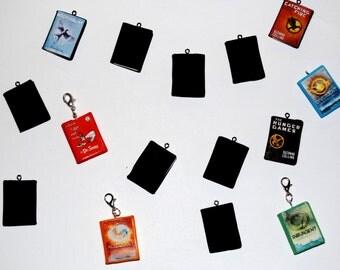 Custom Book Charms