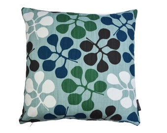 Nordic Scandinavian Swedish Modern cushion cover - Callisia Petrol