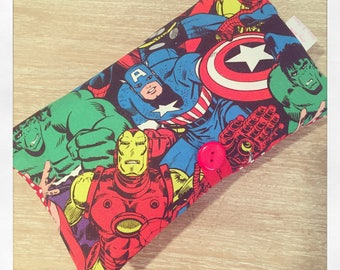 Marvel Nappy Diaper and wipe purse