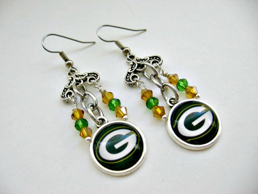 packers earrings green bay packers jewelry green bay packers earrings gb 5955
