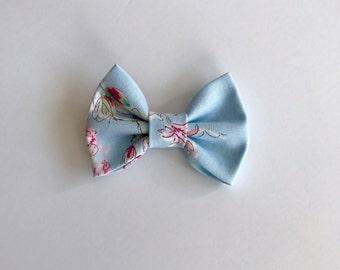 Shabby Floral Bow