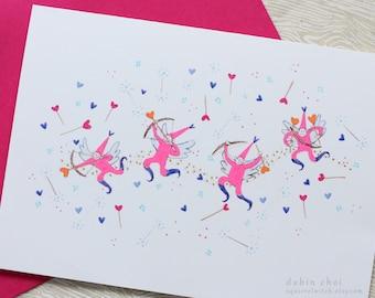 Cupid Love Card