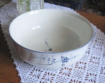 "SALE 15% OFF Villeroy & Boch 9.8 "" porcelain serving Bowl- Vieux Luxembourg housewarming gift dinnerware, serveware, tableware, serving bowl"