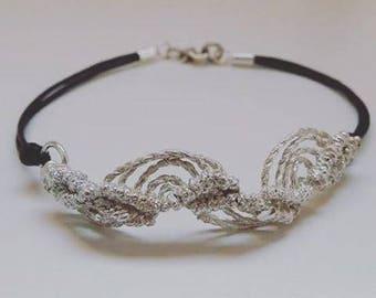 Metallic macrame Jewels.