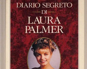 "From the tv series Twin Peaks-Jennifer Lynch-""the secret diary of Laura Palmer""-edition of 1991, paperback"
