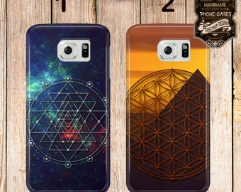 Handyschale, Phone Case, iPhone Samsung Galaxy, Sacred Geometric