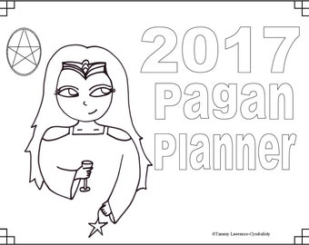 Pagan Planner 2017 (Wiccan Planner)
