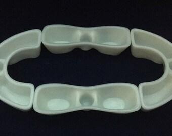 Fenton Milk Glass Clusterettes