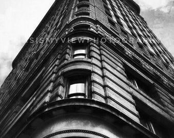 Flat Iron Building, New York, Original Photograph 8x10