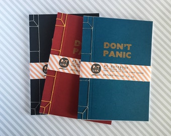 Don't Panic Notebook