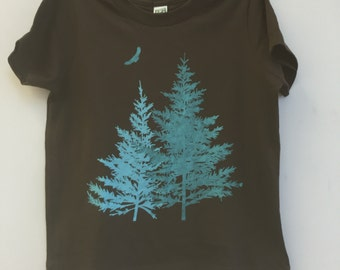 Kid's Organic Spruce T-shirt