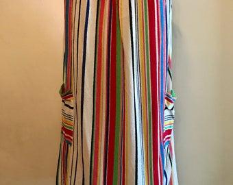 Vintage 70s Stripe Dress