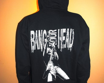 MENS HOODIES zipper front by: Bang Your Head