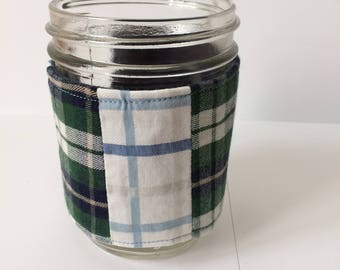 Mason jar cozy + Donation to Springs Rescue Mission