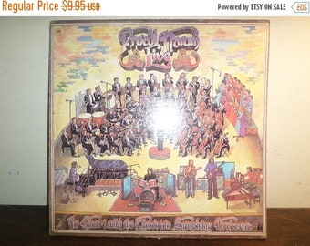 Save 30% Today Vintage 1972 LP Record Procol Harum Live Very Good Condition A&M Records 10542