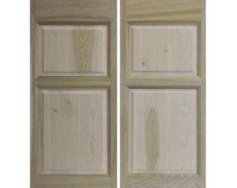 Solid Poplar Custom Cafe Doors / Saloon Doors