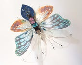 The Bubble Optics Flutter Bug, Fantasy Circuit Board Insect by Julie Alice Chappell, DewLeaf