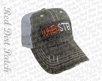 Wheysted fitness workout baseball trucker hat