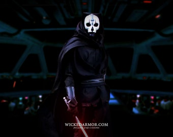 Darth Nihilus Costume - Inspired by Star Wars: Knights of the Old Republic & Champions of the Force (COTF) - Custom Prop Replica Costume