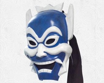 Prince Zuko's Blue Spirit Kabuki Mask - Inspired by Avatar: The Last Airbender - Custom Prop Replica