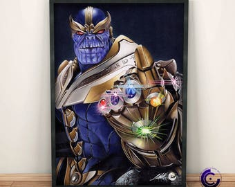 Thanos Limited Edition Print
