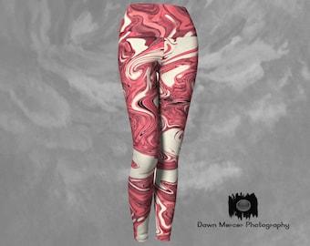 Artsy Yoga Leggings Tights Lady Designer Yoga Pants Dressy Workout Leggings ActiveWear Womens Printed Yoga Pants with Wide Waistband