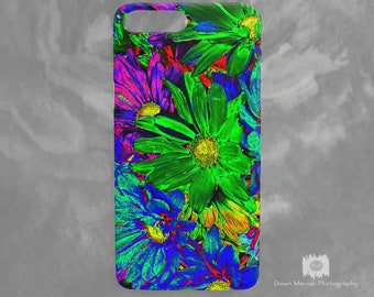 Floral iPhone Cases Covers Floral Art iPhone 7 Plus Case Floral Print iPhone 7 Case Flower Print iPhone 6 Plus Case Unique iPhone 6 Covers