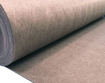 Pocket felt 3 mm taupe