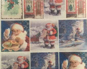 Sherry's Vintage Christmas Postcards Edible Wafer Paper