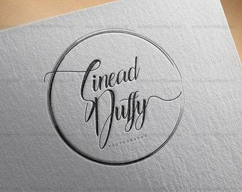 Logo, Custom Premade Logo Design Package,Branding Package - feminine logo, custom logo design, modern logo, logo branding, bloggers logo