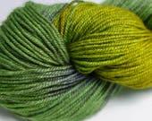 Superwash Merino/Silk/Yak, (60/20/20%) Hand-Dyed 4ply, Fingering, Sock Yarn, 100g, 366m B8