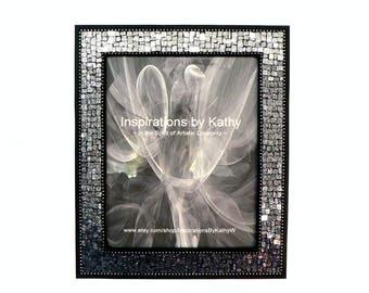 8x10 Glitter Frame Etsy
