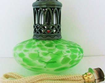 Vintage Oil Lamp Etsy