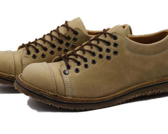 Ty Moon model, men shoes in blue leather