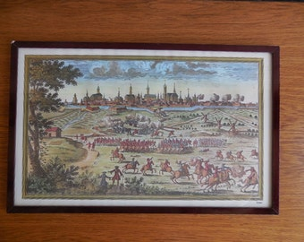 Framed Print of 17th Century Ieper