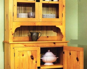 Pine Hutch Woodworking Plans