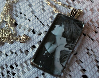 Louise Brooks necklace. Handmade.
